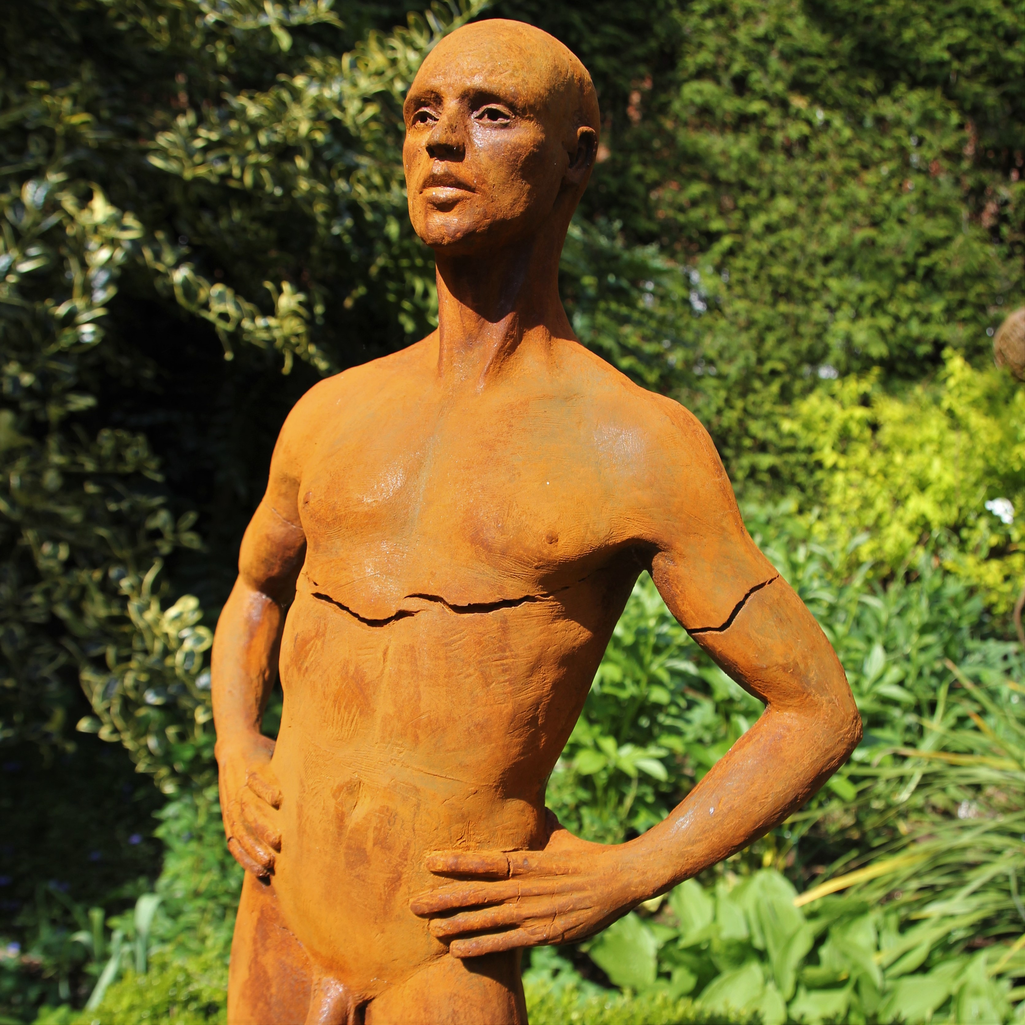Half life sized male nude